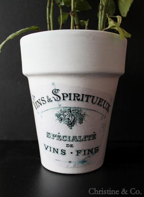 17 best images about repurpose flower pots on pinterest for Fancy flower pots
