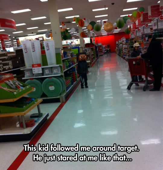 Target creeper // funny pictures - funny photos - funny images - funny pics - funny quotes - #lol #humor #funnypictures