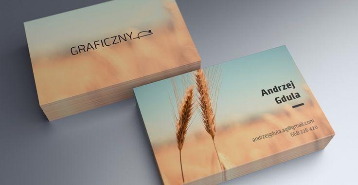 Mock-up – Wizytówka / Business Card – 55 x 85 mm