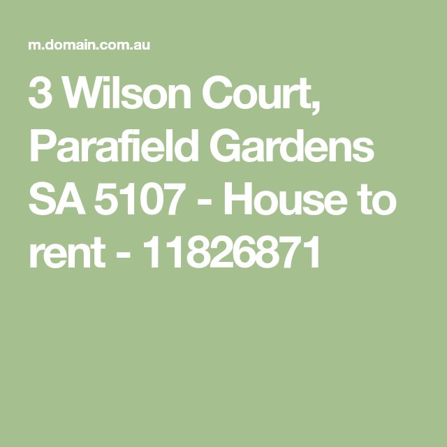 3 Wilson Court, Parafield Gardens SA 5107 - House to rent - 11826871