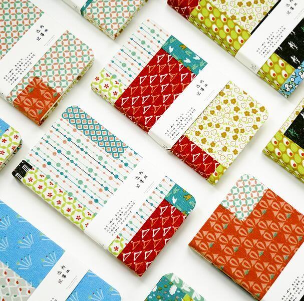 Симпатичные цветочный дизайн ткань покрытие мини ноутбук пустой листов 120 страниц каваи кармане журнал подарок бесплатная доставкакупить в магазине Ki-Magic StoreнаAliExpress