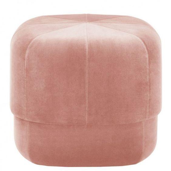 Table basse avec pouf beige - Pouf pour table basse ...