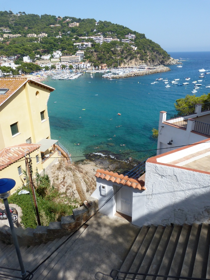 View from the Casamar Michelin Restaurant, Llafranc, Spain