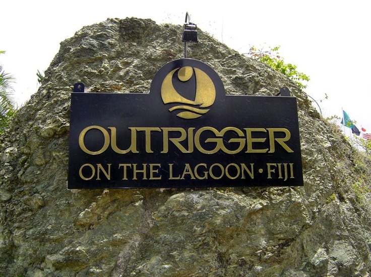 """Our honeymoon """"The Outrigger - Fiji"""""""