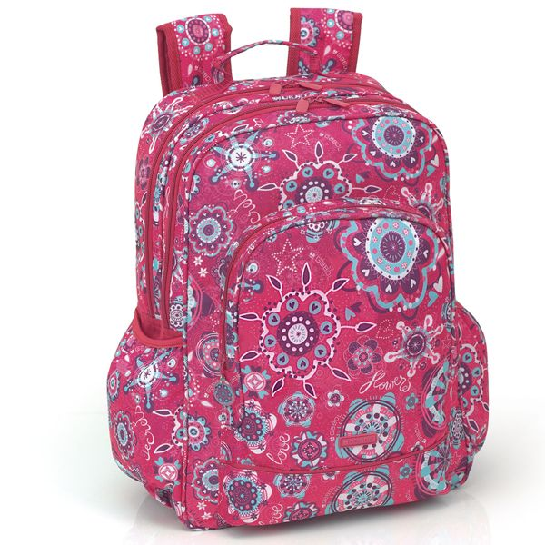 Gabol Multi Backpacks | Kids Backpacks | Harlequin School Bags. The Gabol 'Cuore' Backpack is so pretty! #BackToSchool #BTS #Backpacks4Girls #backpacks #SchoolBags