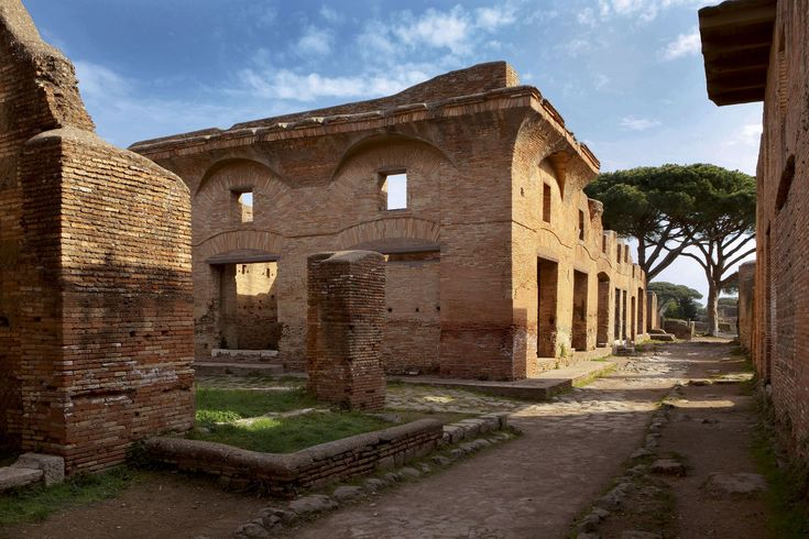289ROMAN ARCHITECTURE, Residential Buildings, Ostia