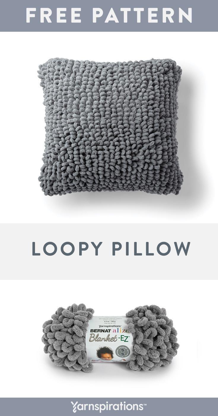 Bernat Alize Blanket Ez Yarn This Cozy Throw Pillow Is