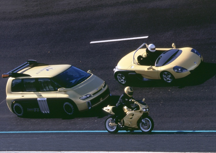 #Renault beasts... early 90s, including the Espace F1