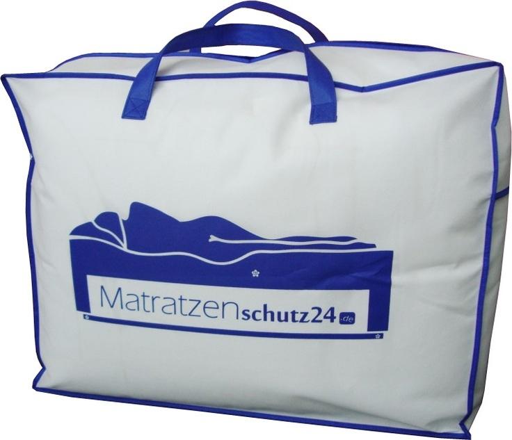 Matratzenschutz24 Aufbewahrungstasche für Decken, Betten, Kissen, Oberbetten, Bettdecken - perfekte Tragetasche