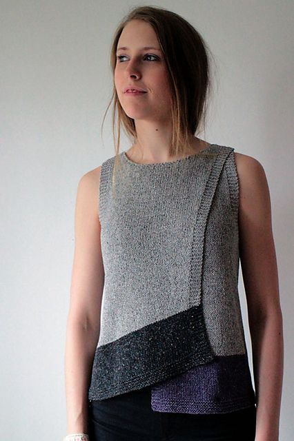 Marita Rolin | Maja - Kiito pattern on Ravelry, interesting hemlines