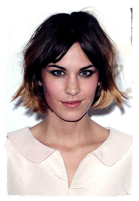 Celebrity Bob #Hairstyles to Inspire You - Alexa Chung
