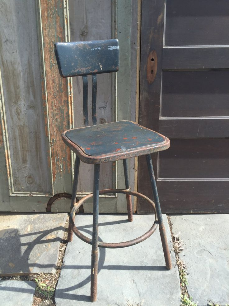 Industrial Drafting Chair by LimeSilo13 on Etsy