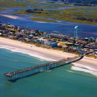 Jolly Roger Pier, Topsail Island, NC Lived two miles from there on 7th St