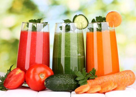 Jus de légumes pour detox d'été