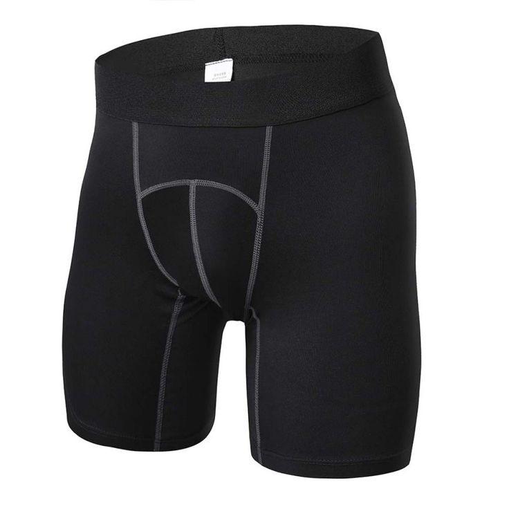 Modo de Medias de Compresión Base Bajo la Capa de Los Hombres de Ropa Deportiva Pantalones Cortos de la Aptitud de Funcionamiento