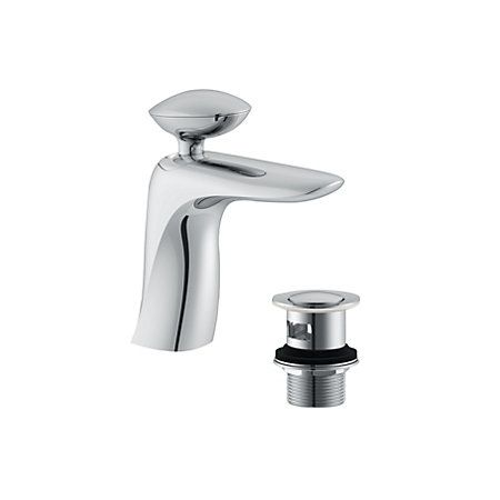 Cooke & Lewis Pebble 1 Lever Basin Mixer Tap | Departments | DIY at B&Q