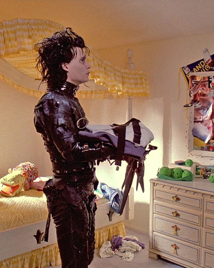 Edward Scissorhands-Johnny Depp. One of my absolute faves!
