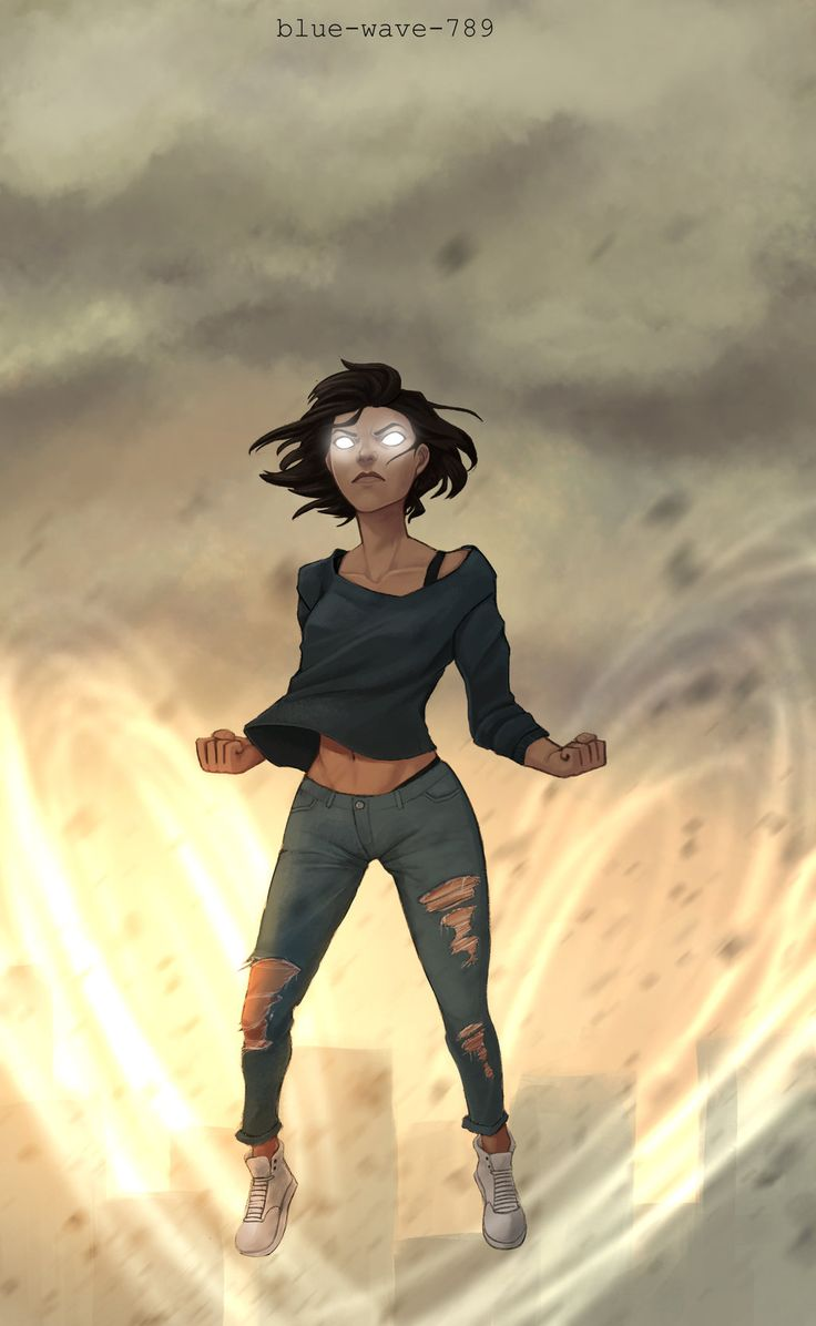 Modern Korra Avatar State by Blue-Wave-789.deviantart.com on @DeviantArt