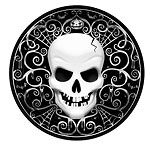 Fright Night Party Paper Plates 26cm