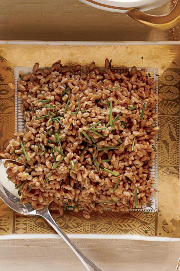 Vegetarian Side Dishes: Browned-Butter Farro