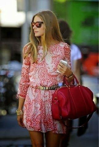 Stylish dress with matching handbag and sunglasses Fun and Fashion Blog