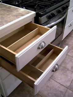 1000 Ideas About Drawer Dividers On Pinterest Utensil