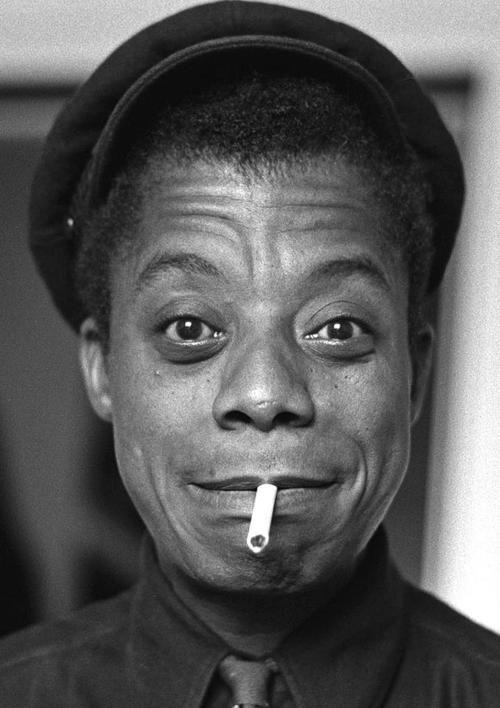 James Baldwin, photo by Mark B. Anstendig