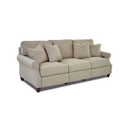 Wayfair Custom Upholstery Doug Sofa Upholstery: Sunbrella® Meridian Wisteria