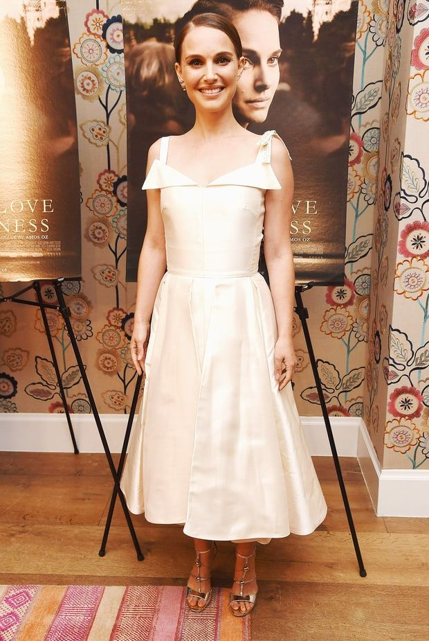 Voler la vedette en blanc comme Natalie Portman - Retos Femeninos