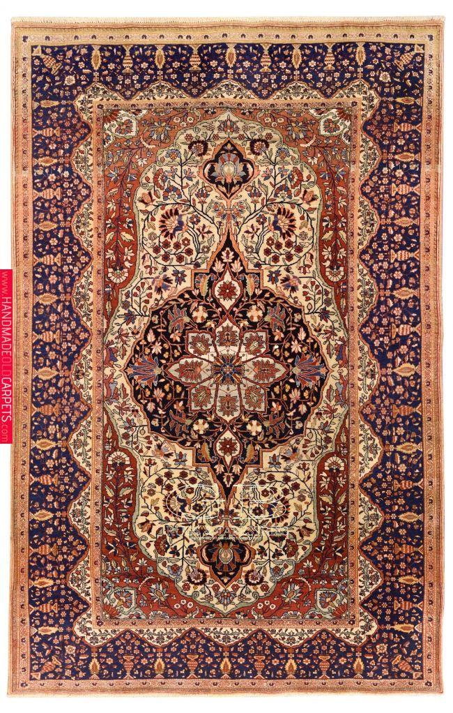 TAPPETO KASHAN MOHTASHAM 203 x 130 Rugs on carpet