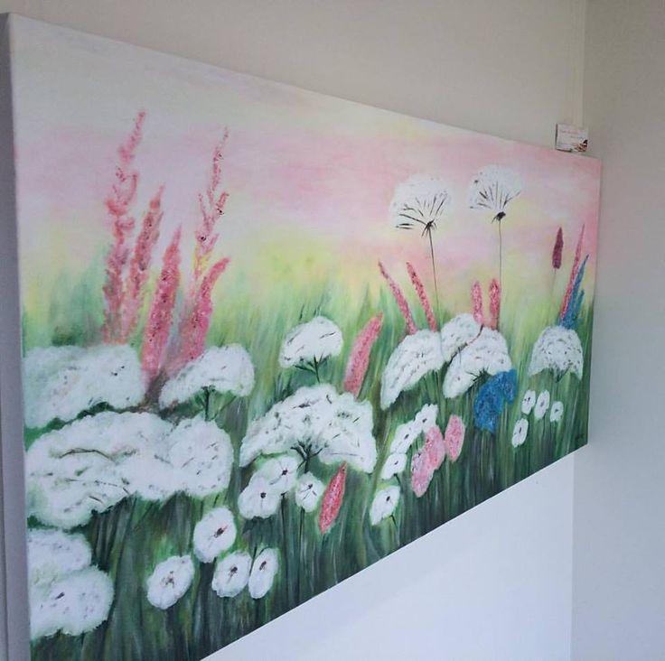Flowers...acryl painting