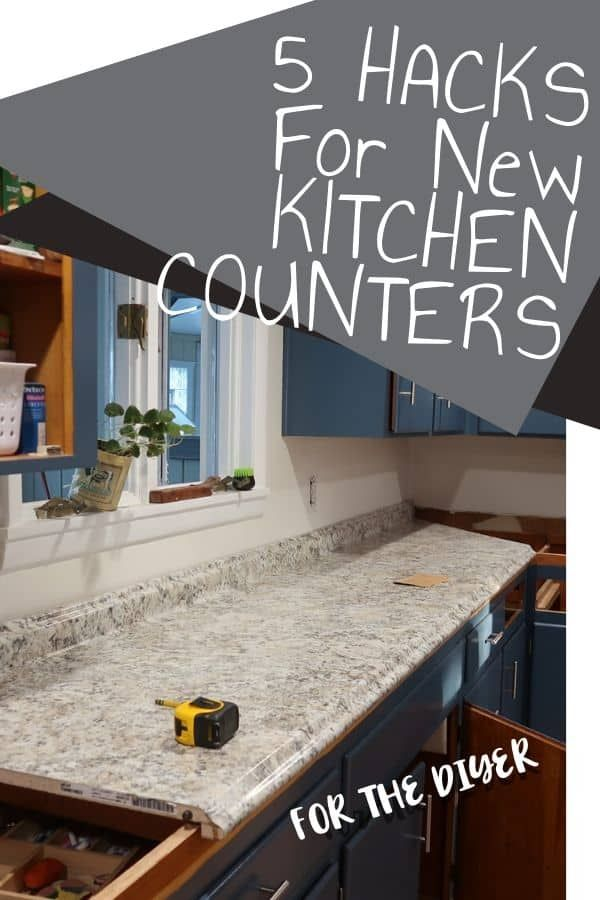 5 Diy Ways To Get New Countertops For Cheap Kitchen Organization