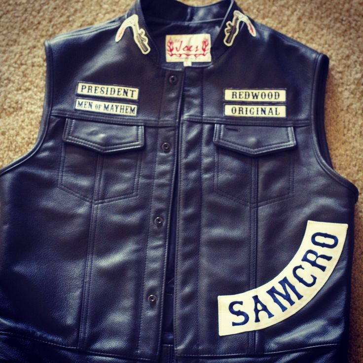 Sons of Anarchy Authentic Lil Joe's Leather Cut by Jax Teller by LAtrends on Etsy https://www.etsy.com/listing/217314516/sons-of-anarchy-authentic-lil-joes