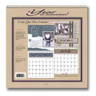 Darice® Create your Own Calendar 12 x 12 inch