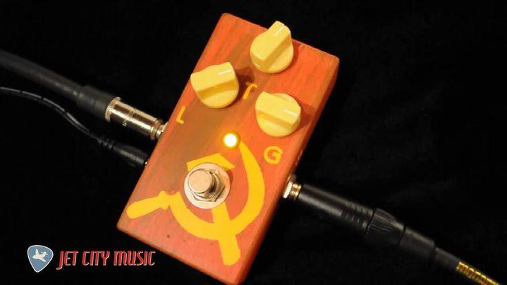 JAM Pedals Red Muck Fuzz-Distortion #jampedals #redmuck #reviewjetcitymusic