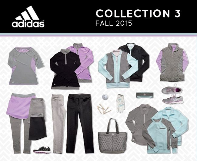 Adidas Golf Fall/Winter 15 Collection for Women | Golf4Her