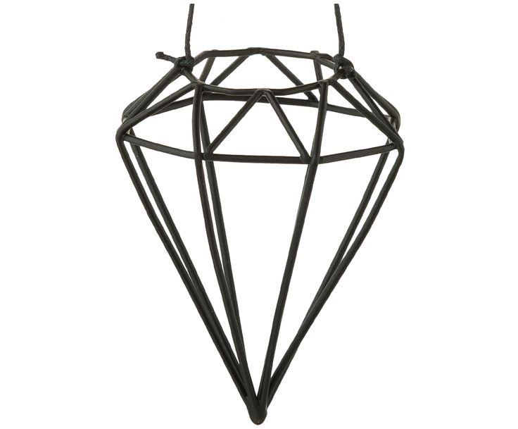Frohe Weihnachten: Schmücken Sie Ihren Weihnachtsbaum Mit Den  Diamantförmigen Modernen Baumanhängern Diamond Aus Schwarzem Metall