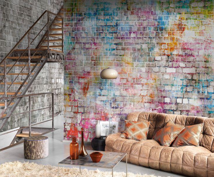 collection so wall 2 papier peint trompe l 39 oeil brique. Black Bedroom Furniture Sets. Home Design Ideas