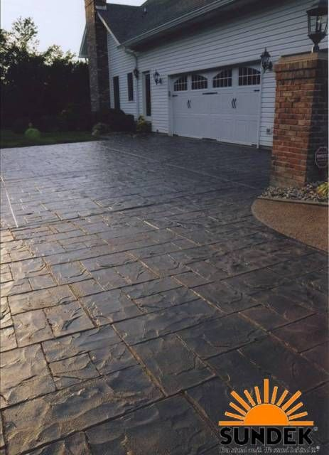 1000 images about driveway on pinterest overlays make Base for concrete driveway