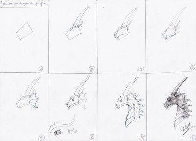 Les 15 meilleures images du tableau dragons sur pinterest comment dessiner dessiner et dragons - Dessiner des dragons ...