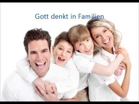 Gott denkt in Familien