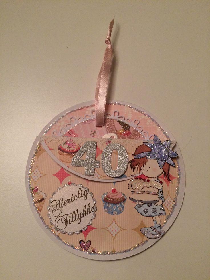Fødselsdagskort. Marianne design