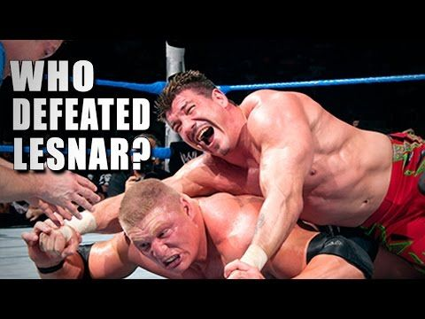 5 Superstars who beat Brock Lesnar - 5 Things - YouTube