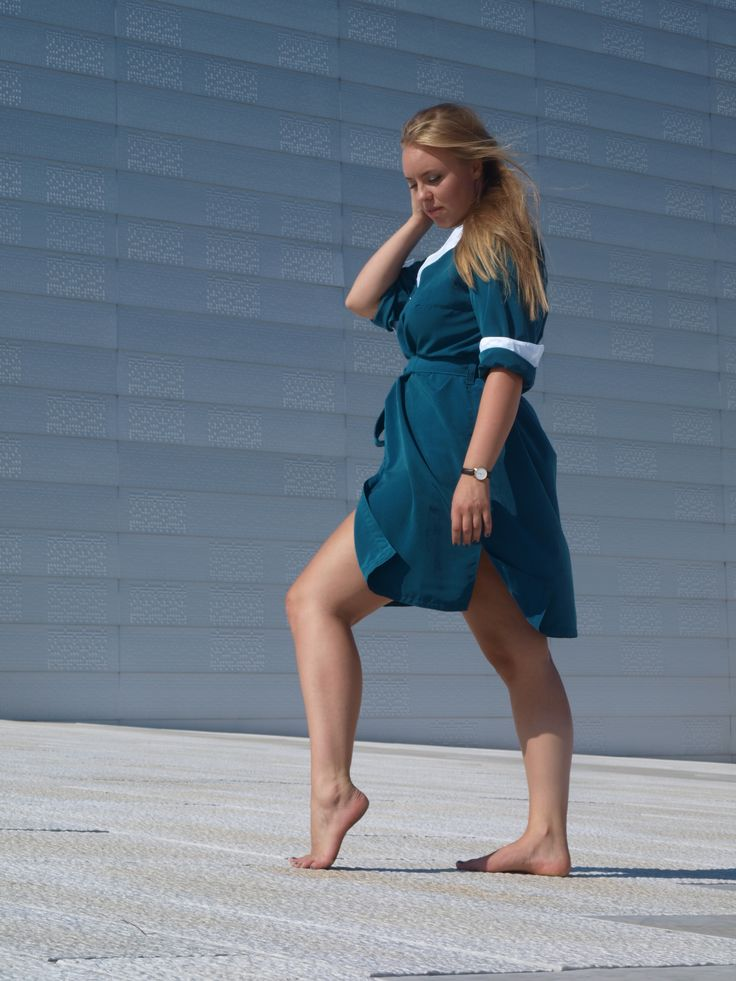 MERAKI by Lilly Alice Skaaraas MERAKI // Project Iceland 2015 // Lagoon (shirtdress)