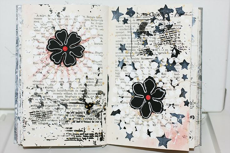 {decemberDaily} 2013 altered book by todido