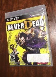 NeverDead PS3 (PlayStation 3) Brand New, With Plastic Wrapping Torn