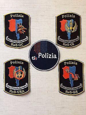 Set: 5 Swiss Police Ticino Patch Polizia Cantonale Ticini Switzerland Rarity New  | eBay
