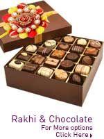 Rakhi Chcolates http://www.lovenwishes.com/rakhichoco.htm