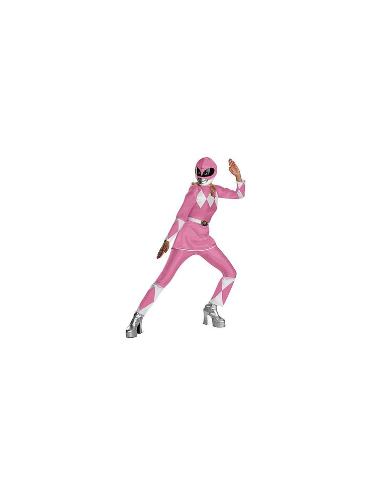 Pink Power Ranger - Store-bought Halloween Costumes - Women