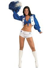 Dallas Cowboys Cheerleader Costume for Women-Party City My halloween costume!